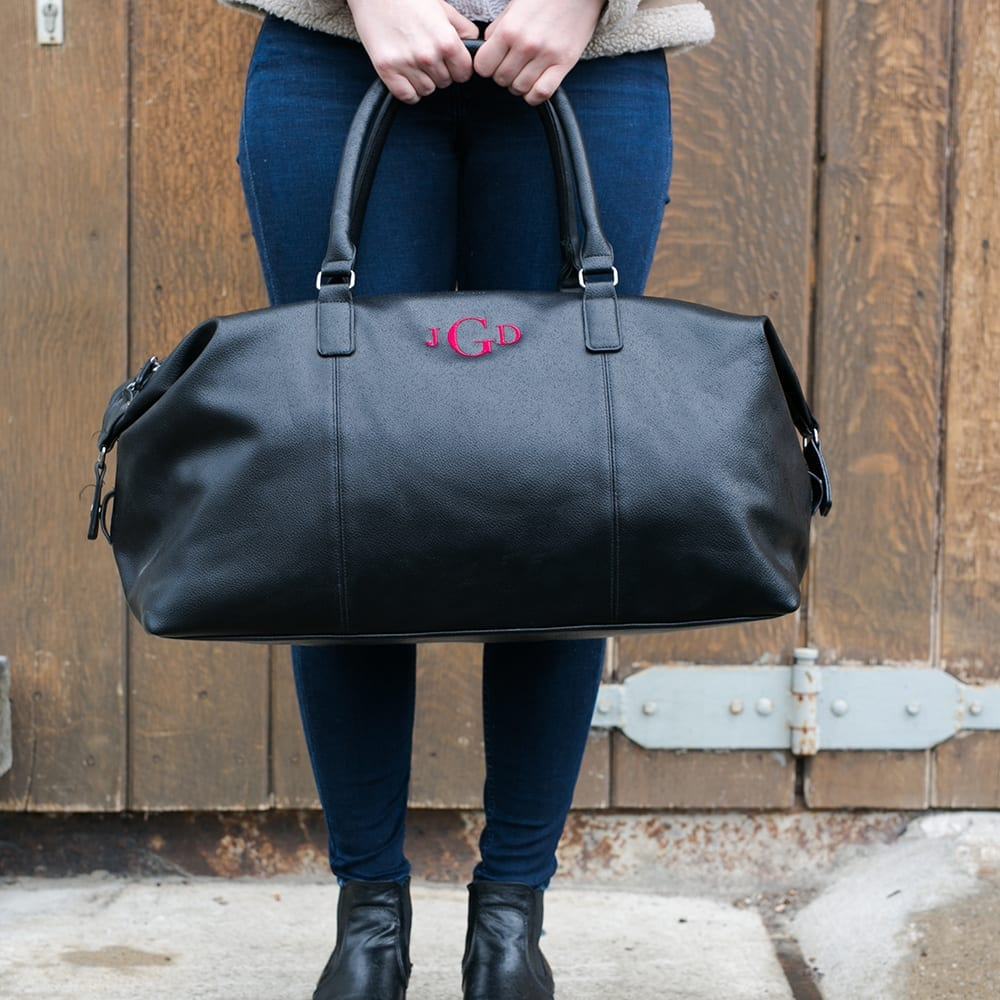 Weekender BlackEdition  embroidered monogram